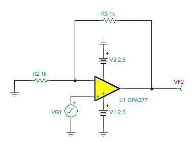 运算放大器电路固有噪声的分析与测量