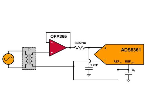 放大器输出信号  通常情况下