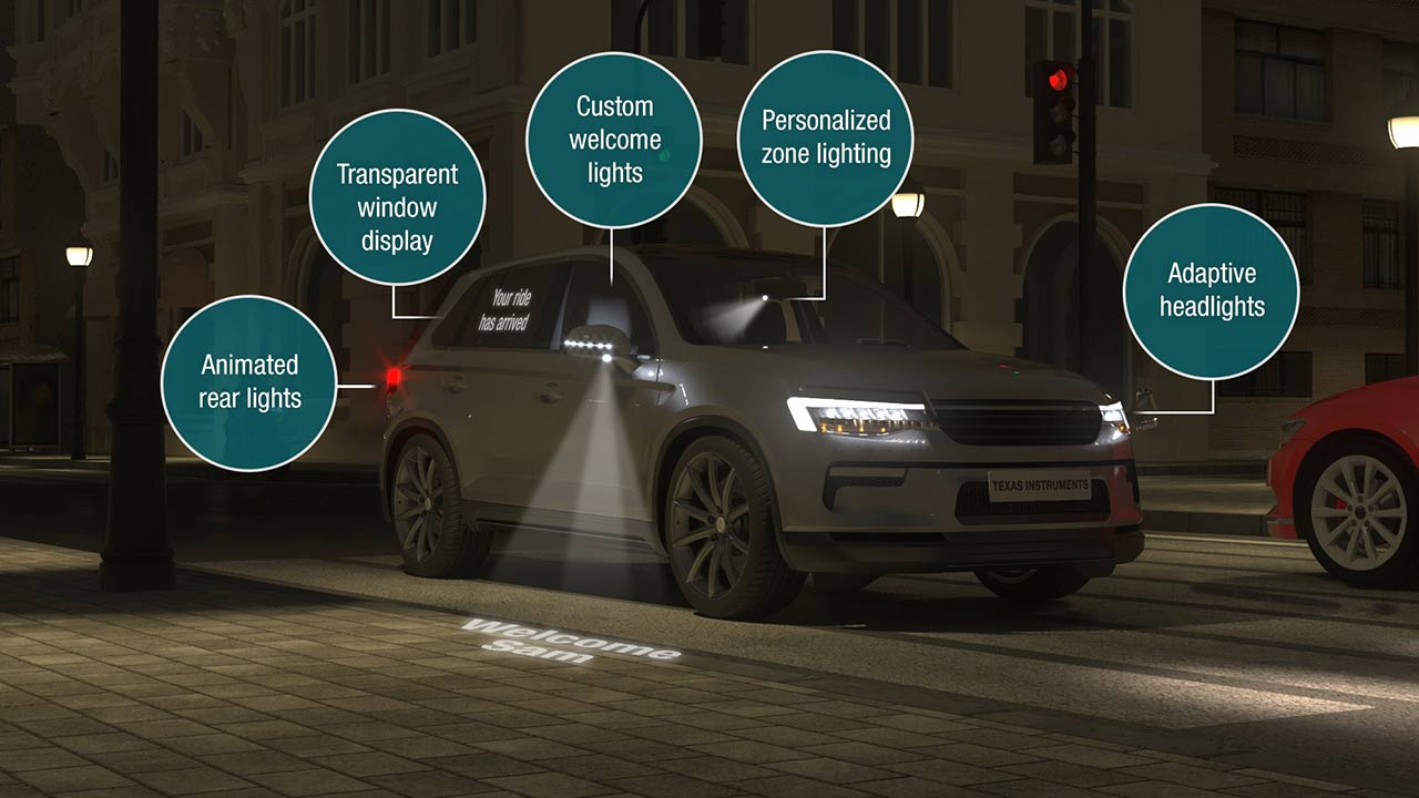 Automotive lighting from front to rear