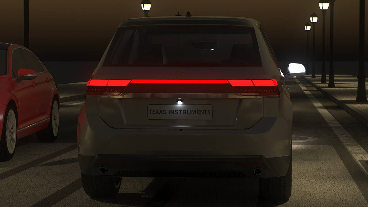 Rear lighting that spans across the length of a vehicle