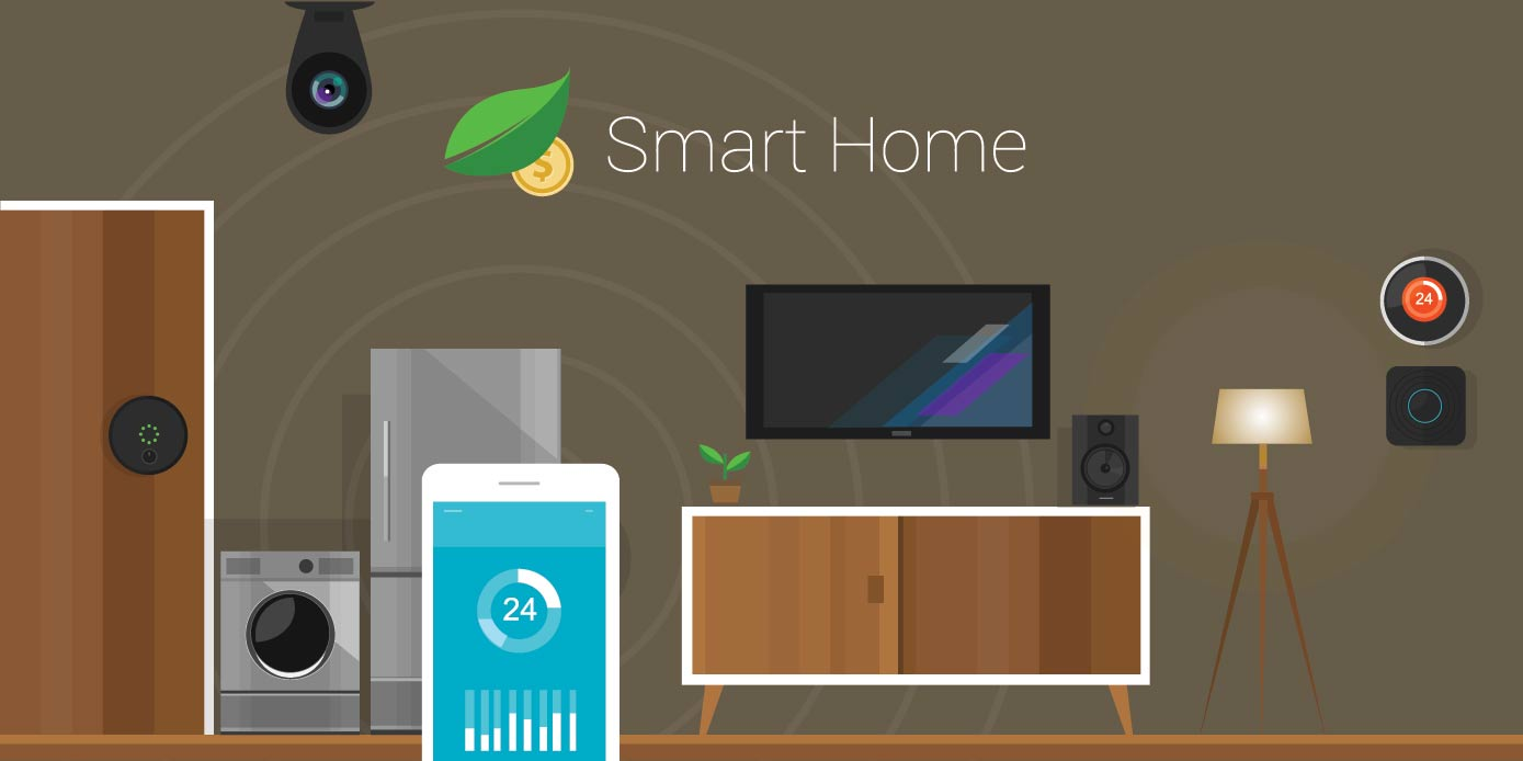 Smart Home Connected IoT
