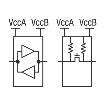 Voltage level translation overview logic circuit ti auto bidirectional ccuart Images