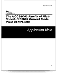 Die High-Speed-Familie UCC38C42 – Cover