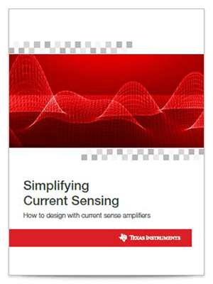 Current sensing e-book amplifier ic