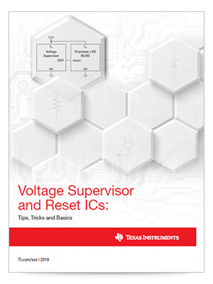 Cover page for the Voltage Supervisor and Reset ICs: Tips, Tricks and Basics