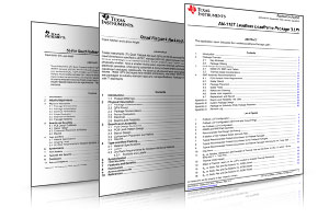 SMT & Application Notes | Texas Instruments