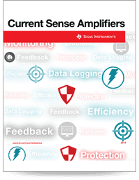 Current sense amplifiers guide for power monitors