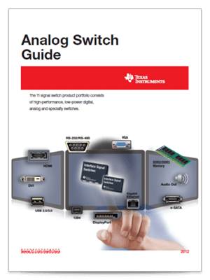Analog Switch Guide cover