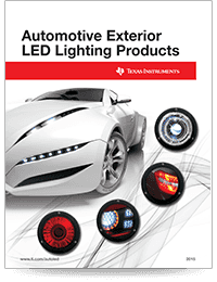 Automotive Exterior LED Lighting Products Guide