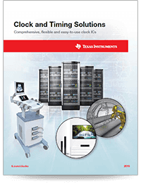 Clock & Timing overview brochure