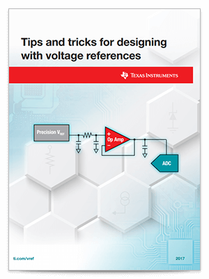 Cover page for Tips and tricks for designing with voltage references