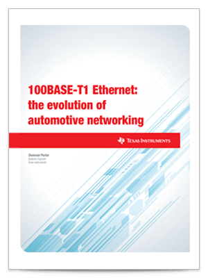 automotive networking evolution 100base-t1 ethernet whitepaper cover sheet