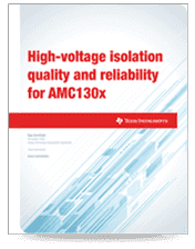 Isolation amplifier quality and reliability