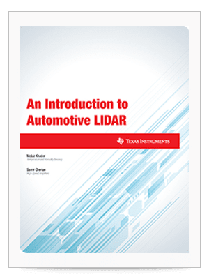 An Introduction to Automotive LIDAR cover