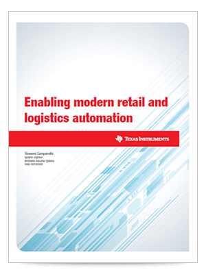 Enabling modern retail and logistics automation white paper