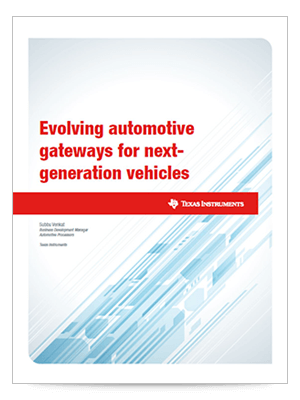 automotive gateways for next generation vehicles whitepaper cover sheet