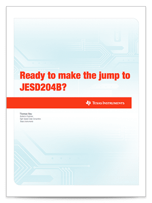 Transitioning to JESD204B white paper