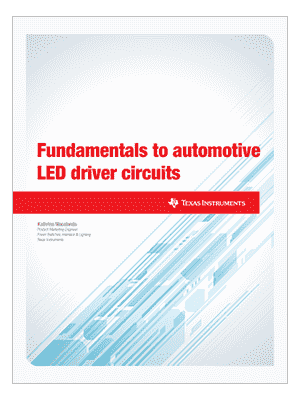 Fundamentals-to-automotive-LED-driver-circuits