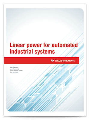 linear power for automated industrial systems