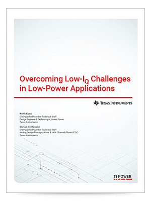 Overcoming Low-IQ Challenges in Low-Power Applications