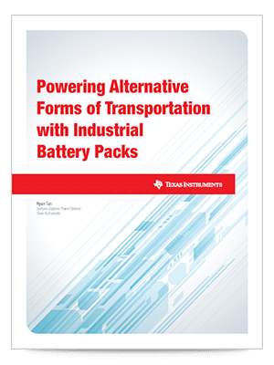 white paper industrial battery pack for emobility