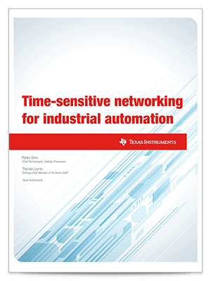 Time-sensitive networking  for industrial automation