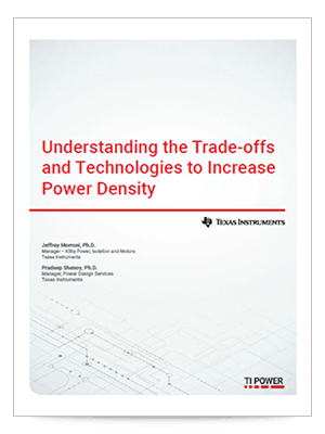 Understanding the trade-offs and technologies to increase power density