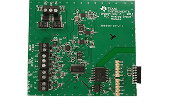 Analog input module with difference amplifier