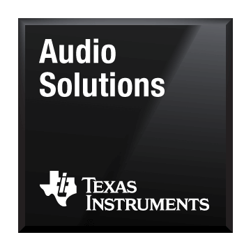 black chip shot audio solutions texas instruments