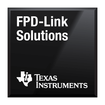 Black-Chip-Shot-FPD-Link-Lösungen Texas Instruments