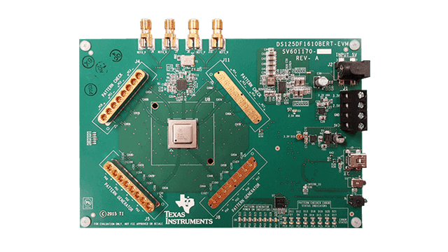 12-Gbps Multi-Channel BERT Board Reference Design