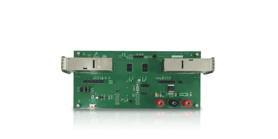 2-port 100GbE/40GbE/10GbE QSFP28 Signal Conditioner Reference Design