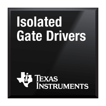 black chip shot isolated gate drivers texas instruments