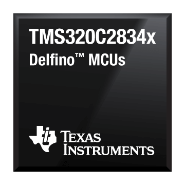 TMS320C2834x chip shot