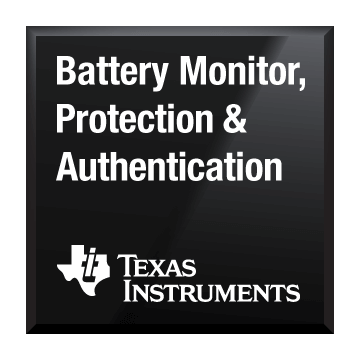 black chip shot battery monitor protection and authentication texas instruments