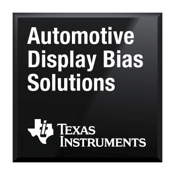 Black-Chip-Shot-Display-Bias-Lösungen für den Automobilbereich Texas Instruments