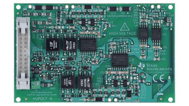 sic gate driver ISO5852S evaluation module