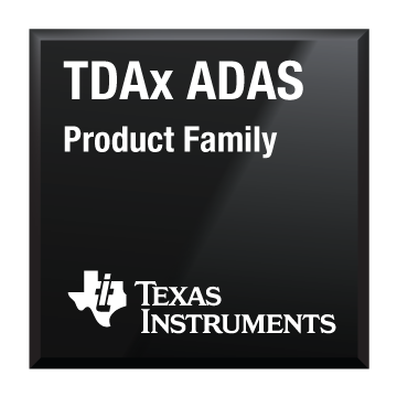 Black Chip Shot TDAx adas Texas Instruments