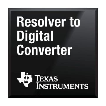 black chip shot resolver to digital converter texas instruments