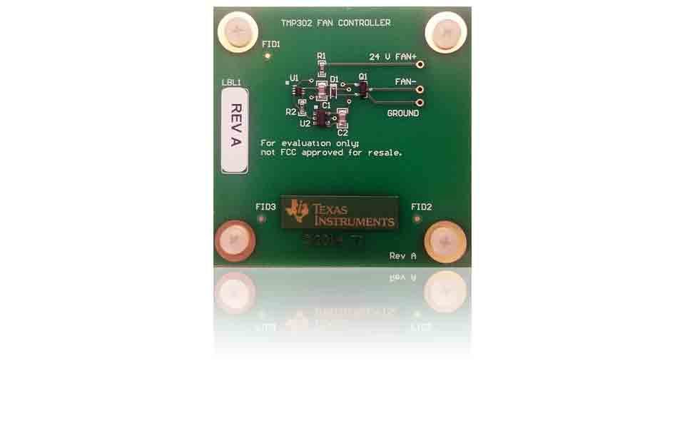 LMT70 evaluation module precise analog output temperature sensor with output enable