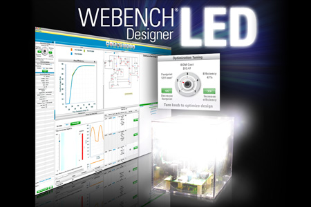 Light emitting diode led designer webench tools ti