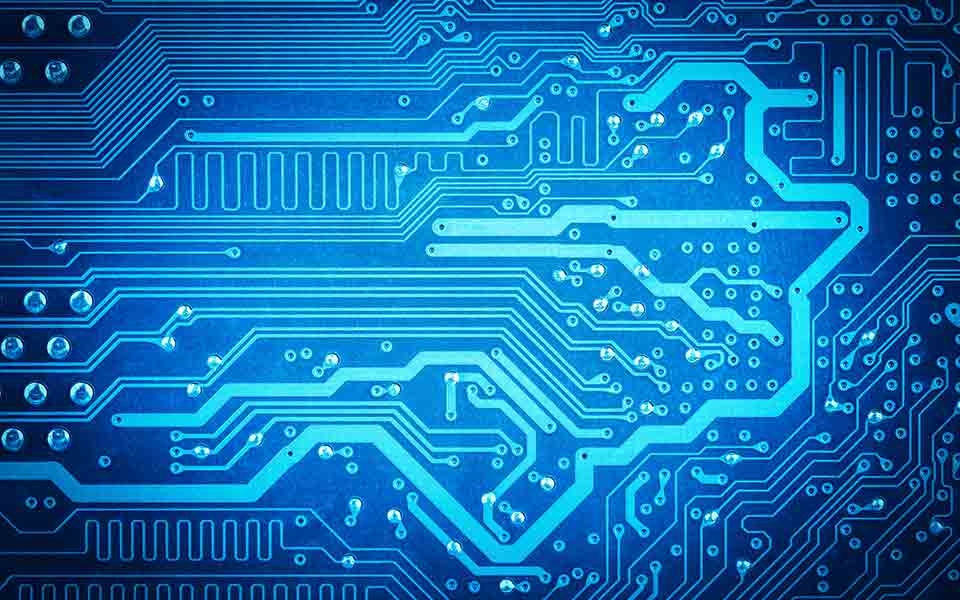 Tree Design On Circuit Board Wallpaper Vector Image: Ultraviolet (UV) - Overview