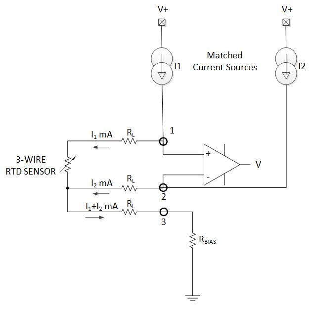 Figure 2: Circuit comparison - TMP117