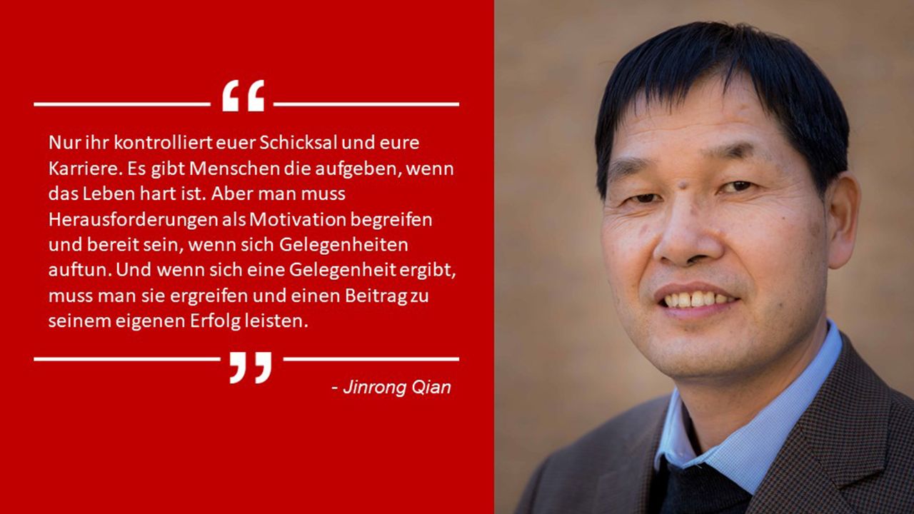 Texas Instruments Jinrong Qian Karriere