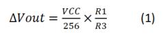 Minimum step voltage