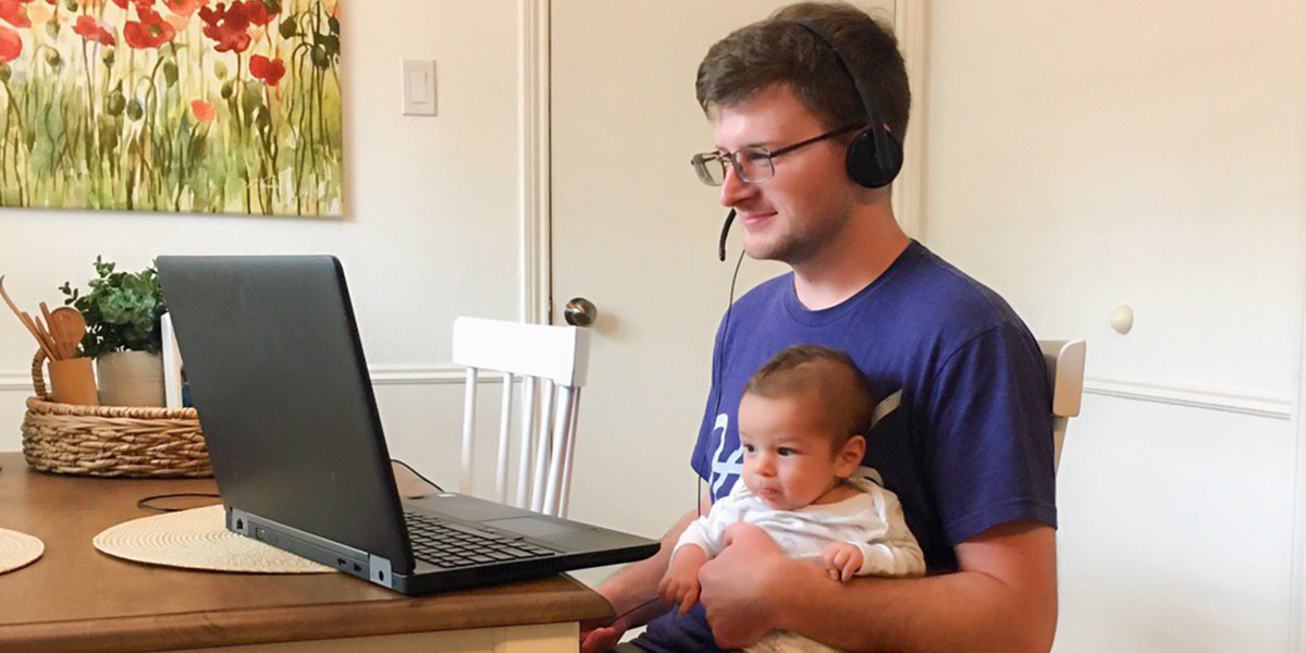 matt-hein-working-with-baby