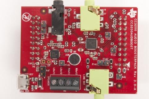 CC3200AUDBOOST-SimpleLink Wi-Fi CC3200 Audio BoosterPack - TI store image