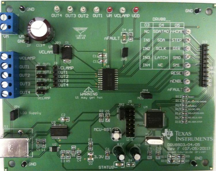 DRV8804EVM from Texas Instruments image