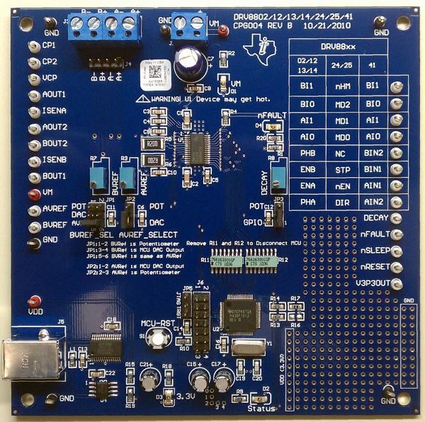 DRV8840EVM from Texas Instruments image