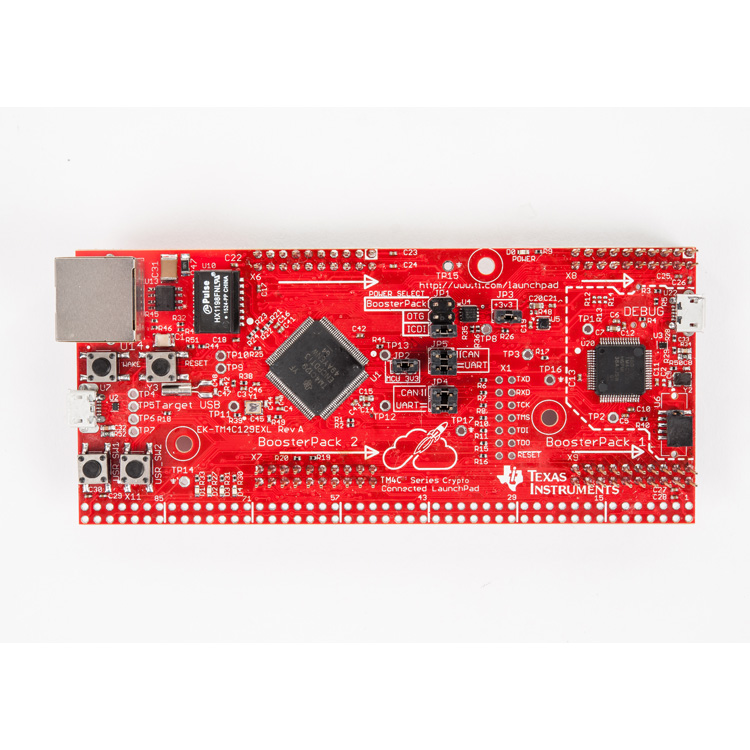 EK-TM4C129EXL-TM4C129E Crypto Connected LaunchPad - TI store image
